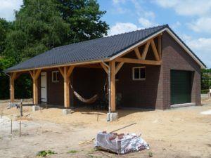 Martens, douglas aanbouw lessenaar overkapping, Rijkevoort